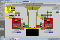 Vizualizácia kotolne na biomasu